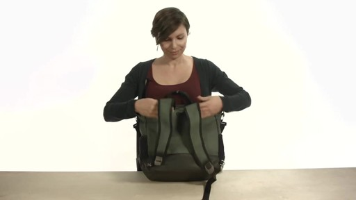 Noe Commuter Pannier Tote Backpack - eBags.com - image 6 from the video