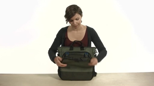 Noe Commuter Pannier Tote Backpack - eBags.com - image 7 from the video