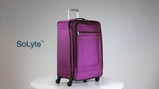 Shop Samsonite SoLyte luggage on eBags.com - image 1 from the video