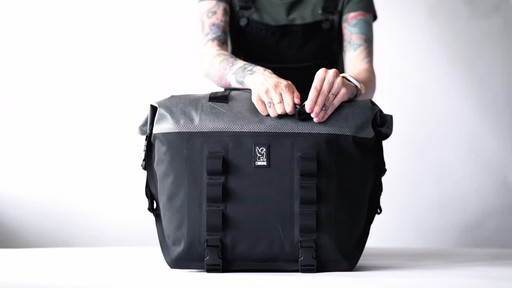 Chrome Industries Urban Ex Rolltop Tote 40L - image 3 from the video