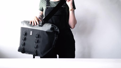 Chrome Industries Urban Ex Rolltop Tote 40L - image 4 from the video