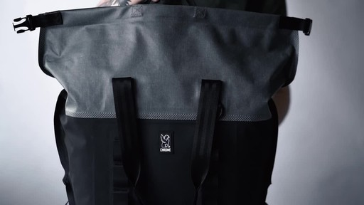Chrome Industries Urban Ex Rolltop Tote 40L - image 5 from the video