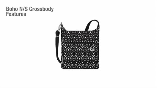 Travelon Anti-Theft Boho North/South Crossbody - image 2 from the video