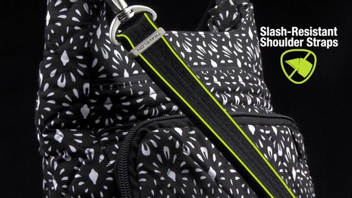 Travelon Anti-Theft Boho North/South Crossbody - image 6 from the video