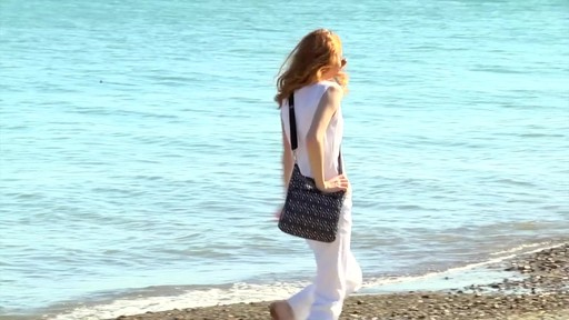Travelon Anti-Theft Boho North/South Crossbody - image 9 from the video