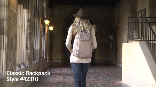 Travelon Anti-Theft Classic Backpack - eBags.com - image 1 from the video