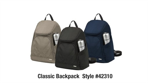 Travelon Anti-Theft Classic Backpack - eBags.com - image 10 from the video