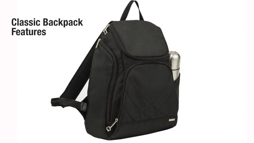 Travelon Anti-Theft Classic Backpack - eBags.com - image 2 from the video