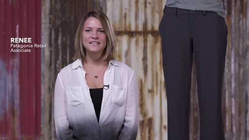 Patagonia Womens Happy Hike Pants - image 1 from the video