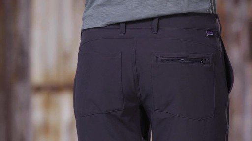 Patagonia Womens Happy Hike Pants - image 3 from the video