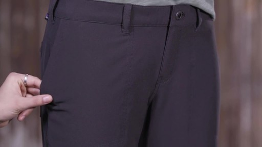 Patagonia Womens Happy Hike Pants - image 7 from the video