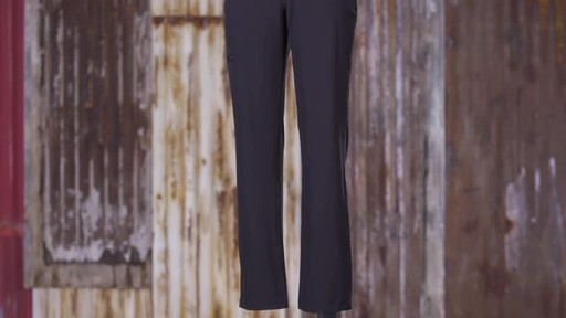 Patagonia Womens Happy Hike Pants - image 8 from the video