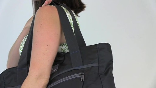 Eagle Creek Packable Tote - image 4 from the video
