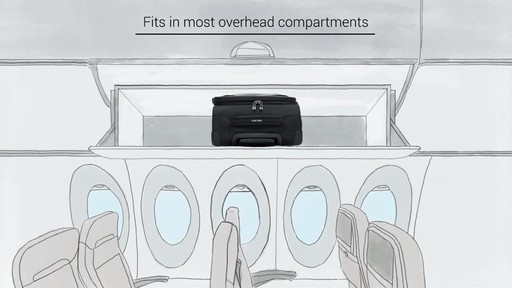 Delsey Chatillon Carry-on Luggage - on eBags.com - image 10 from the video
