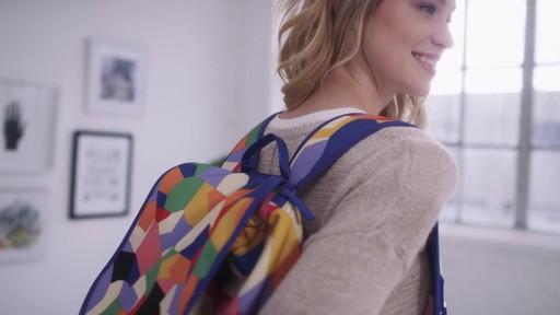 Vera Bradley Lighten Up Drawstring Backpack - image 1 from the video
