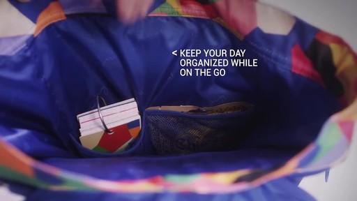 Vera Bradley Lighten Up Drawstring Backpack - image 3 from the video