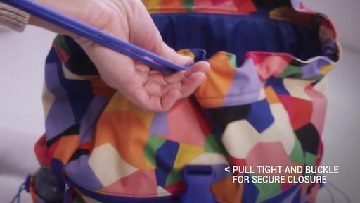 Vera Bradley Lighten Up Drawstring Backpack - image 4 from the video
