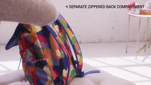 Vera Bradley Lighten Up Drawstring Backpack - image 6 from the video