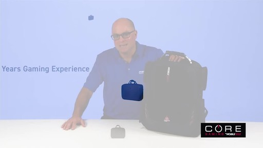 Mobile Edge Core Gaming Backpacks - image 1 from the video