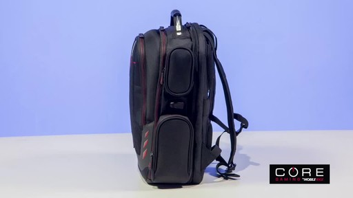 Mobile Edge Core Gaming Backpacks - image 2 from the video