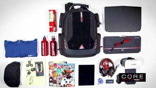 Mobile Edge Core Gaming Backpacks - image 3 from the video