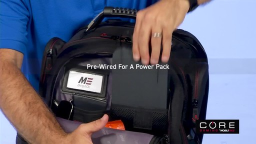 Mobile Edge Core Gaming Backpacks - image 4 from the video