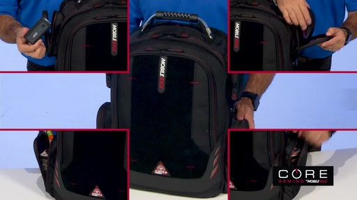 Mobile Edge Core Gaming Backpacks - image 6 from the video