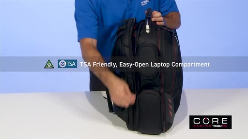 Mobile Edge Core Gaming Backpacks - image 7 from the video