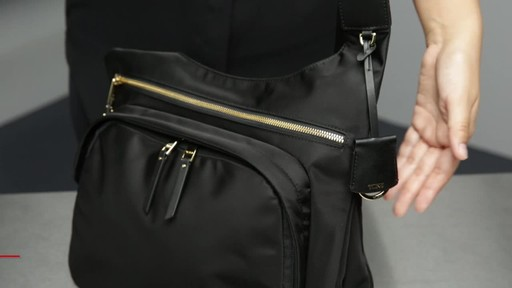 Tumi Voyageur Siam Crossbody - image 7 from the video