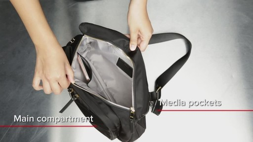 Tumi Voyageur Siam Crossbody - image 9 from the video