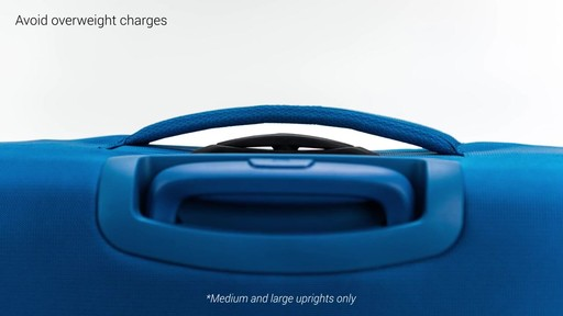 Delsey Chatillon Checked Luggage - on eBags.com - image 3 from the video