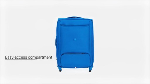 Delsey Chatillon Checked Luggage - on eBags.com - image 6 from the video