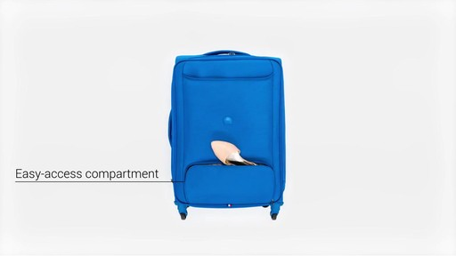 Delsey Chatillon Checked Luggage - on eBags.com - image 7 from the video