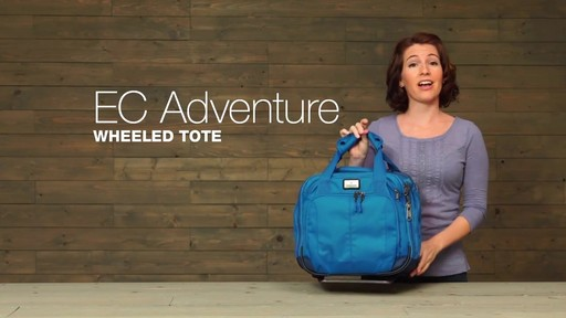 Eagle Creek EC Adventure Wheeled Tote - image 1 from the video