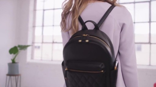 Vera Bradley Leighton Backpack - image 1 from the video
