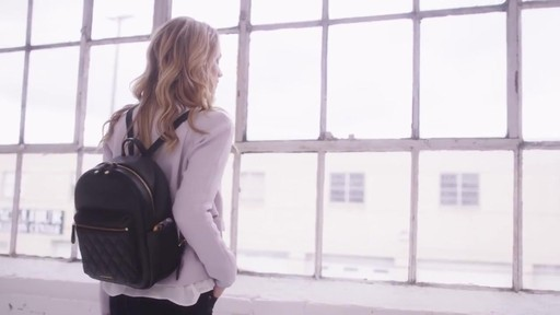 Vera Bradley Leighton Backpack - image 10 from the video
