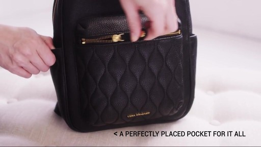 Vera Bradley Leighton Backpack - image 3 from the video