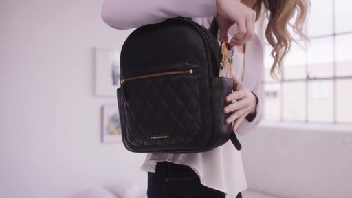 Vera Bradley Leighton Backpack - image 4 from the video