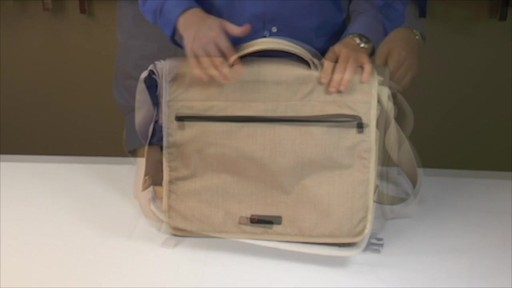 ecbc Zeus Messenger - eBags.com - image 3 from the video