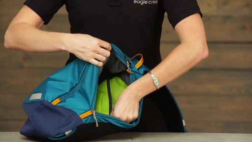 Eagle Creek Tablet Sling Daypack RFID - image 6 from the video