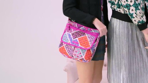 Vera Bradley Iconic Mailbag - image 1 from the video