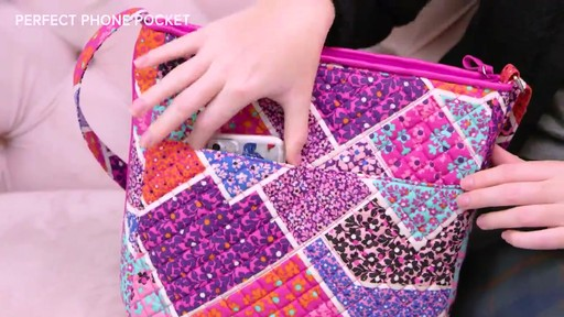 Vera Bradley Iconic Mailbag - image 3 from the video