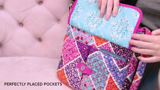 Vera Bradley Iconic Mailbag - image 4 from the video