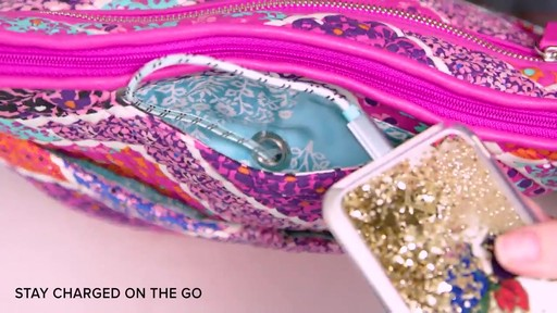 Vera Bradley Iconic Mailbag - image 6 from the video