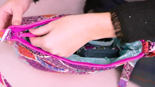 Vera Bradley Iconic Mailbag - image 7 from the video