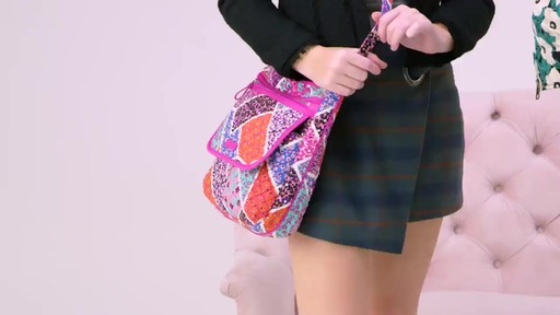 Vera Bradley Iconic Mailbag - image 9 from the video
