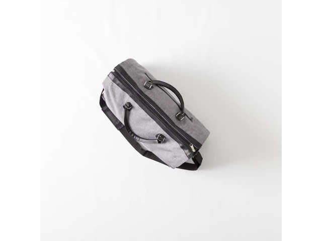Cathy's Concepts Monogram Convertible Garment/Duffel Bag - image 10 from the video
