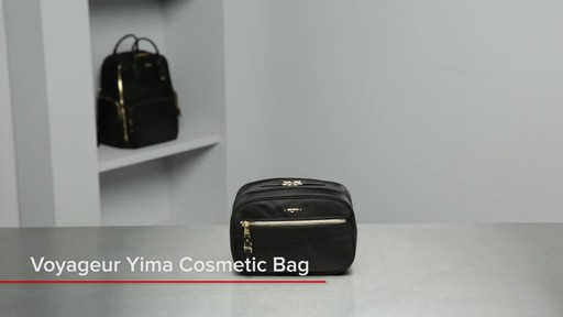 Tumi Voyageur Yima Cosmetic - image 1 from the video