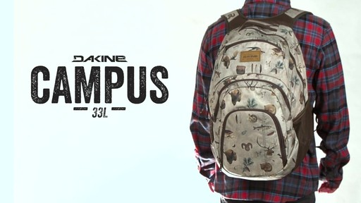 DAKINE Campus Pack Large Laptop Backpack - eBags.com » eBags Video
