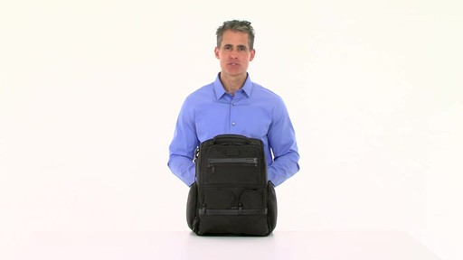 Tumi Alpha 2 Compact Laptop Brief Pack & Reg. - eBags.com - image 1 from the video